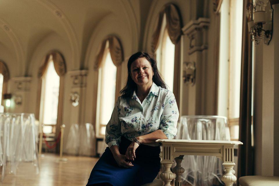 Författare Ann-Luise Bertell